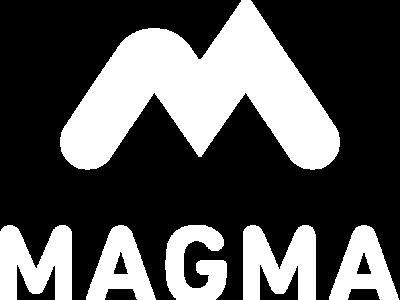 Magma Logo negativ