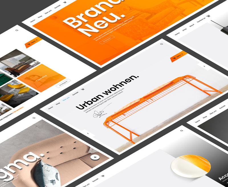 Wir erstellen professionelle Webseiten