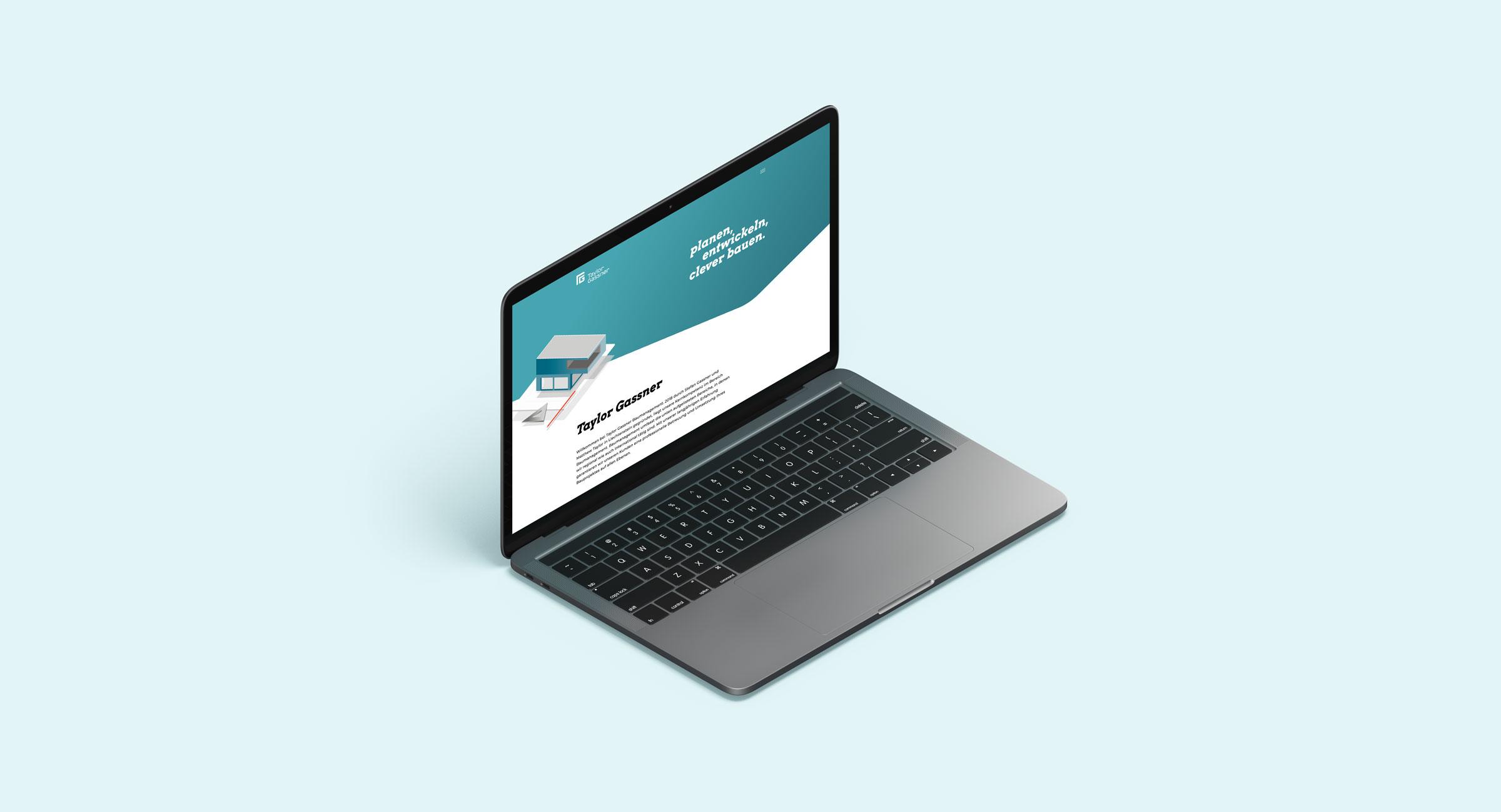Baumanagement Webseite, Vaduz