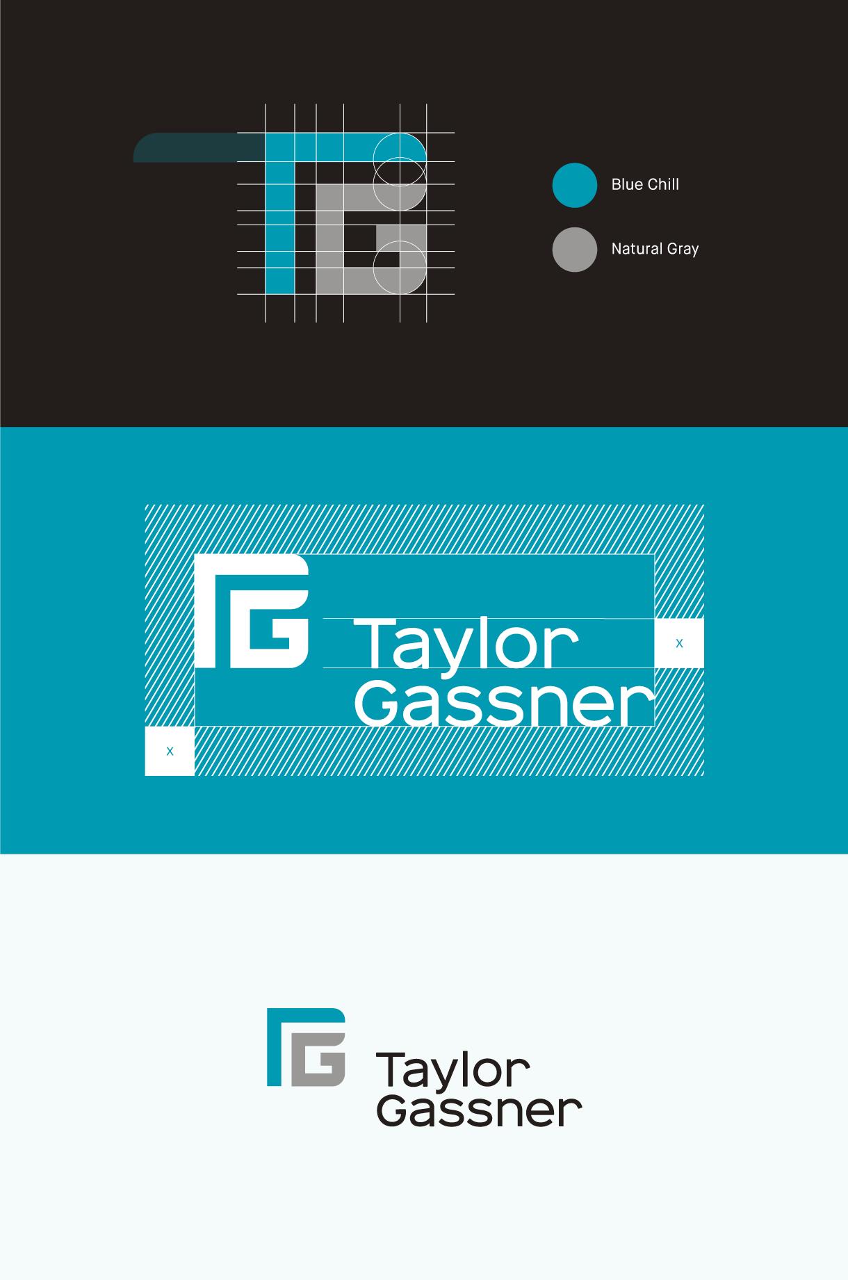 Taylor und Gassner, Logo Konsturktion