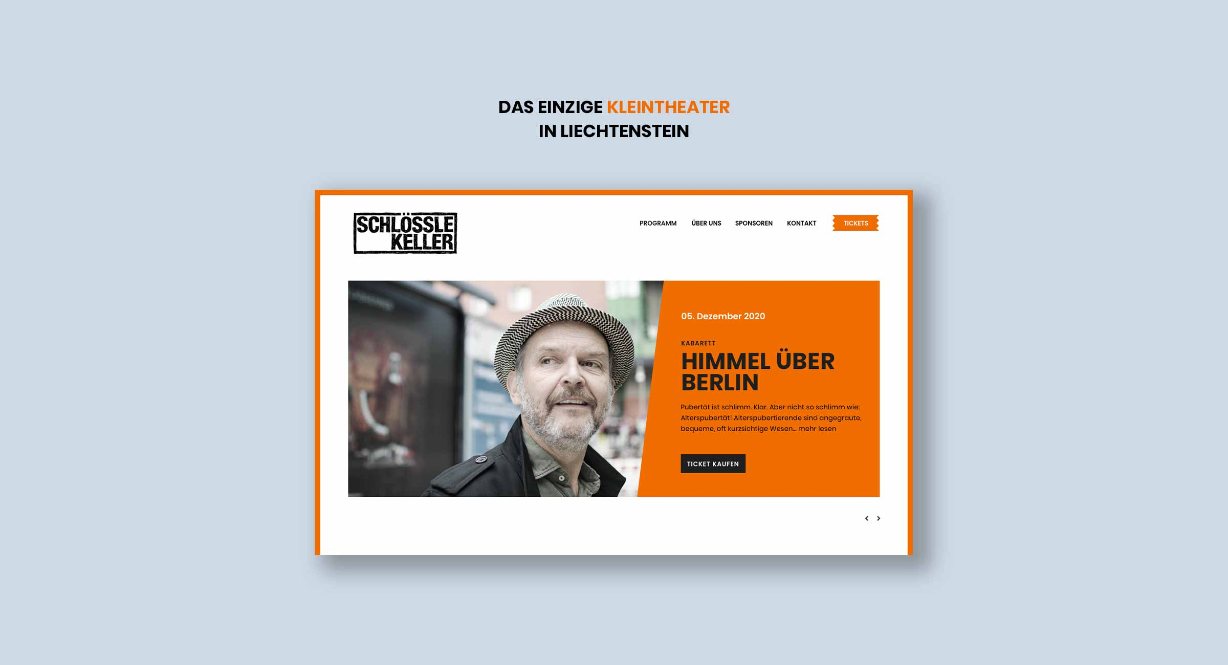Webseiten Liechtenstein, Schloesslekeller